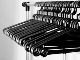 fashion empty rack